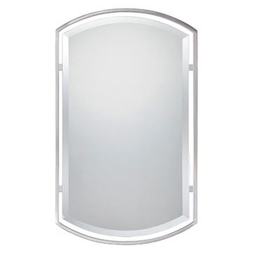 Quoizel QR1419BN Breckenridge Small Mirror - Brushed Nickel