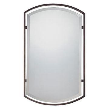Quoizel Qr1419pn Breckenridge Small Mirror - Palladian Bronze