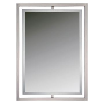 Quoizel Qr1857bn Marcos Small Mirror - Brushed Nickel
