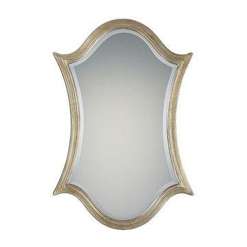 Quoizel Qr2057 Vanderbilt Large Mirror - Century Silver Leaf