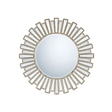 Quoizel Qr983 Gwyneth Large Mirror - Antique Silver Patina