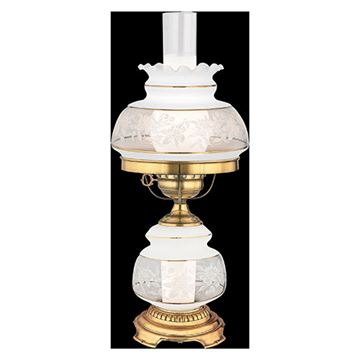 Quoizel Sl701g Satin Lace Table Lamp - Florentine Silver