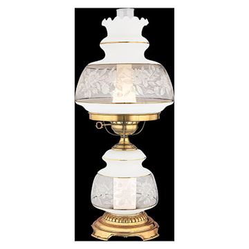 Quoizel Sl702g Satin Lace Table Lamp - Florentine Silver