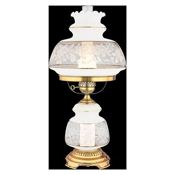 Quoizel Sl703g Satin Lace Table Lamp - Florentine Silver