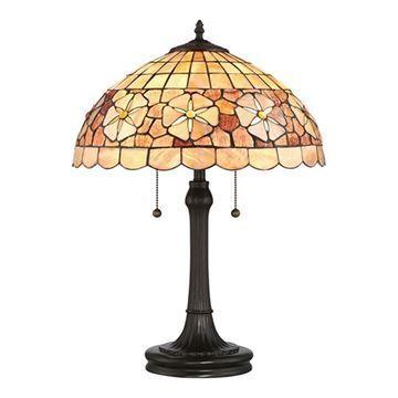 Quoizel Sssb6223vb Sea Shell Sanibel Desk Lamp - Vintage Bronze