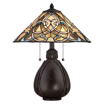 Quoizel Tf1846tib India Table Lamp - Imperial Bronze