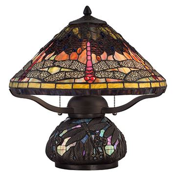 Quoizel Tf1851tib Copperfly Table Lamp - Imperial Bronze