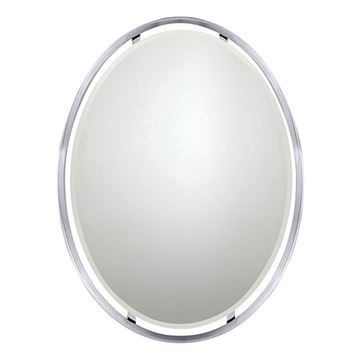 Quoizel UPRZ43426C Uptown Ritz Small Mirror - Polished Chrome