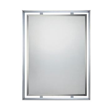 Quoizel UPRZ53426C Uptown Ritz Small Mirror - Polished Chrome