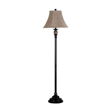 Kenroy Home 20631orb Plymouth Floor Lamp - Oil Rubbed Bronze & Marble