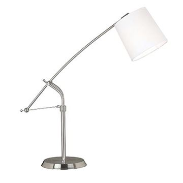 Kenroy Home 20813bs Reeler Table Lamp - Brushed Steel