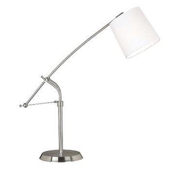 Kenroy Home 20813BS Reeler Table Lamp - Brushed Steel