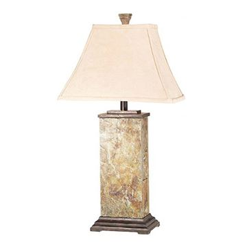 Kenroy Home 31202 Bennington Table Lamp - Natural Slate