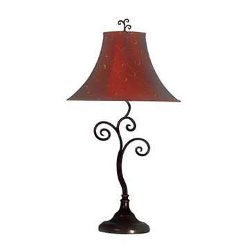 Kenroy Home 31380BRZ Richardson Table Lamp - Bronze