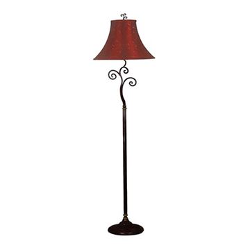Kenroy Home 31381BRZ Richardson Floor Lamp - Bronze