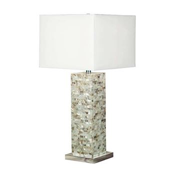 Kenroy Home 32025MOP Pearl Table Lamp - Mother of Pearl