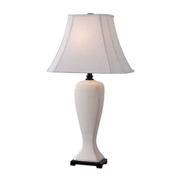 Kenroy Home 32070pwh Onoko Table Lamp - Pearlized White