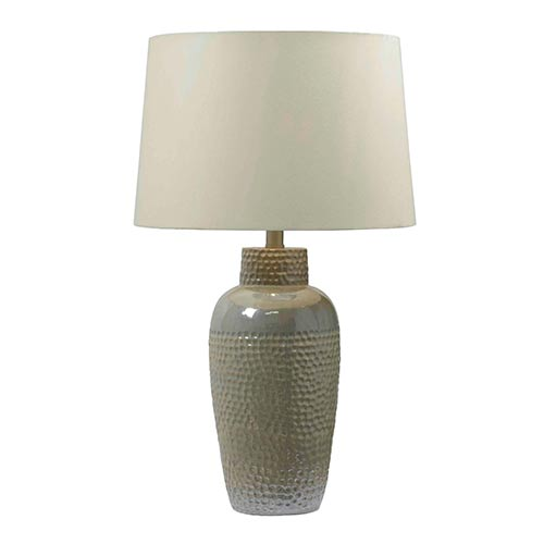 Kenroy Home 32107ird Facade Table Lamp - Iridescent Ceramic
