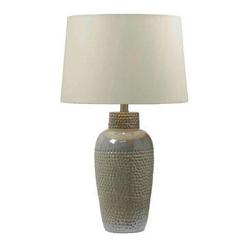Kenroy Home 32107IRD Facade Table Lamp - Iridescent Ceramic