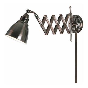 Kenroy Home 32197CBZ Floren Swing Arm Lamp - Copper Bronze