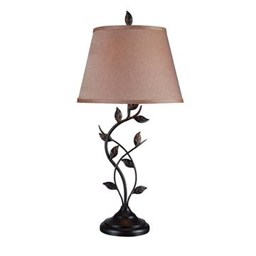 Kenroy Home 32239ORB Ashlen Table Lamp - Oil Rubbed Bronze