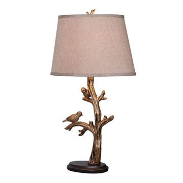 Kenroy Home 32295BRZD Tweeter Table Lamp - Bronzed