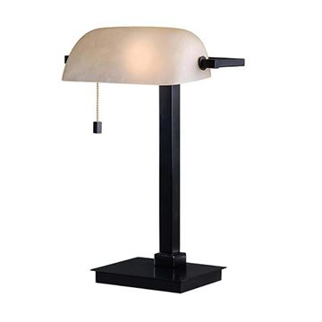 Kenroy Home 32305ORB Wall Street Desk Lamp - Oil Rubbed Bronze