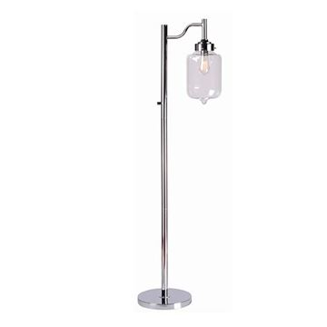 Kenroy Home 32408CH Casey Floor Lamp - Chrome