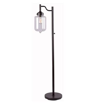 Kenroy Home 32408ORB Casey Floor Lamp - Oil Rubbed Bronze