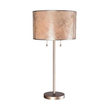 Kenroy Home 32673WAS Alec Table Lamp - Warm Antique Silver
