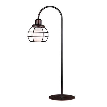 Kenroy Home 32702ORB Caged Table Lamp - Oil Rubbed Bronze