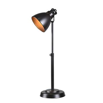 Kenroy Home 32977ORB Polk Desk Lamp - Rubbed Bronze & Antique Bronze