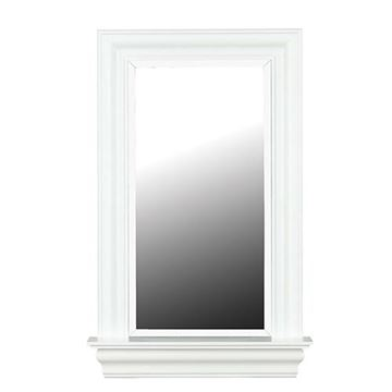 Kenroy Home 60028 Juliet Wall Mirror - White Gloss