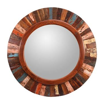 Kenroy Home 60208 Randy Wall Mirror - Old Paint