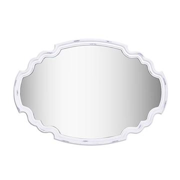 Kenroy Home 60227 Backstage Wall Mirror - Antique White