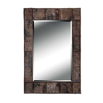 Kenroy Home 61002 Birch Bark Wall Mirror - Natural Birch Bark