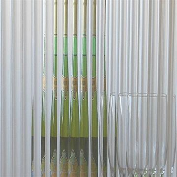 Restorers 1/2 Inch Reeded Custom Decorative Architectural Glass