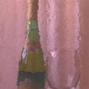 Restorers Amethyst Colored Custom Decorative Architectural Glass
