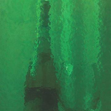 Restorers Emerald Colored Custom Decorative Architectural Glass