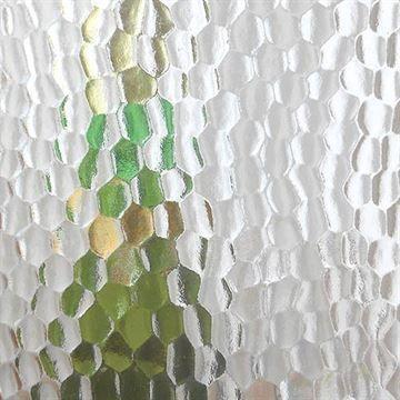 Restorers Large Hammered Custom Decorative Architectural Glass