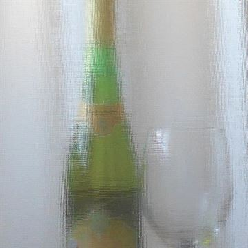 Restorers Linen Custom Decorative Architectural Glass