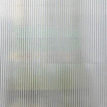 Restorers Ribbed Custom Decorative Architectural Glass
