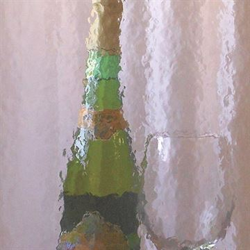 Restorers Rose Quartz Colored Custom Decorative Architectural Glass