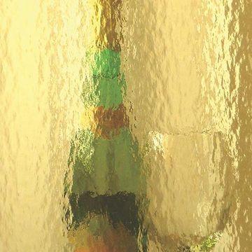 Restorers Topaz Colored Custom Decorative Architectural Glass