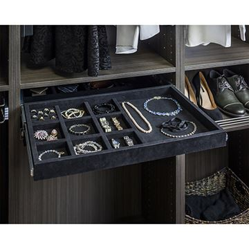Restorers 10-Comp Jewelry Organizer & Ring Insert Drawer Kit