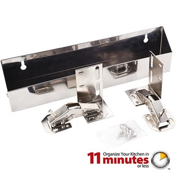 Elements 11-Minute 11 Inch Stainless Tipout Tray Kit