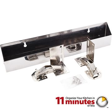 Elements 11-Minute 14 Inch Stainless Tipout Tray Kit