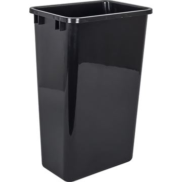 Elements 11-Minute 50-Quart Plastic Waste Container