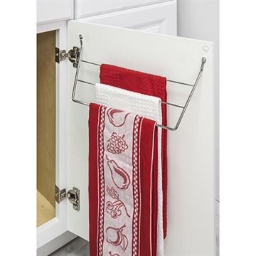 Elements 11-Minute Door Mount 3-Tier Dishcloth Rack
