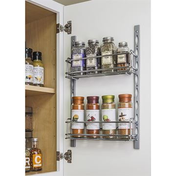 Elements 11-Minute Door Mount Storage Tray System Kit